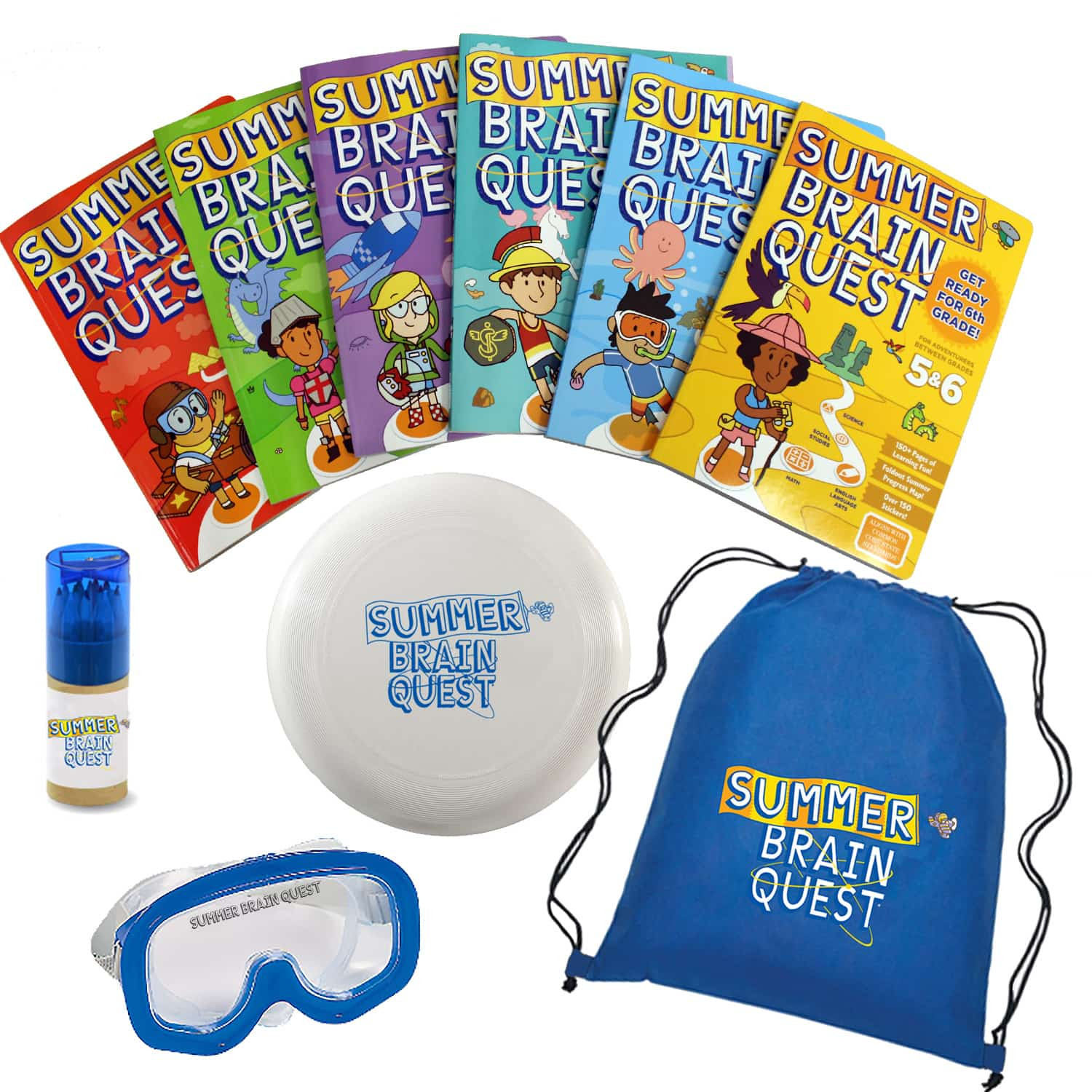 Summer Brain Quest Prize Pack