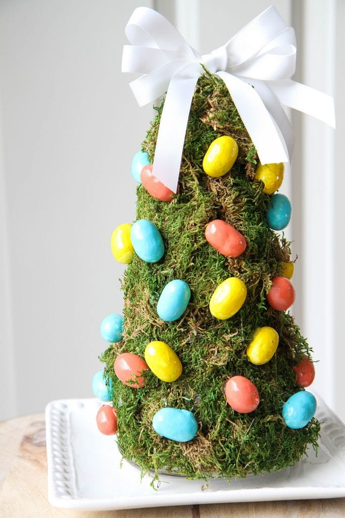 DIY Easter Egg Tree from MomAdvice.com