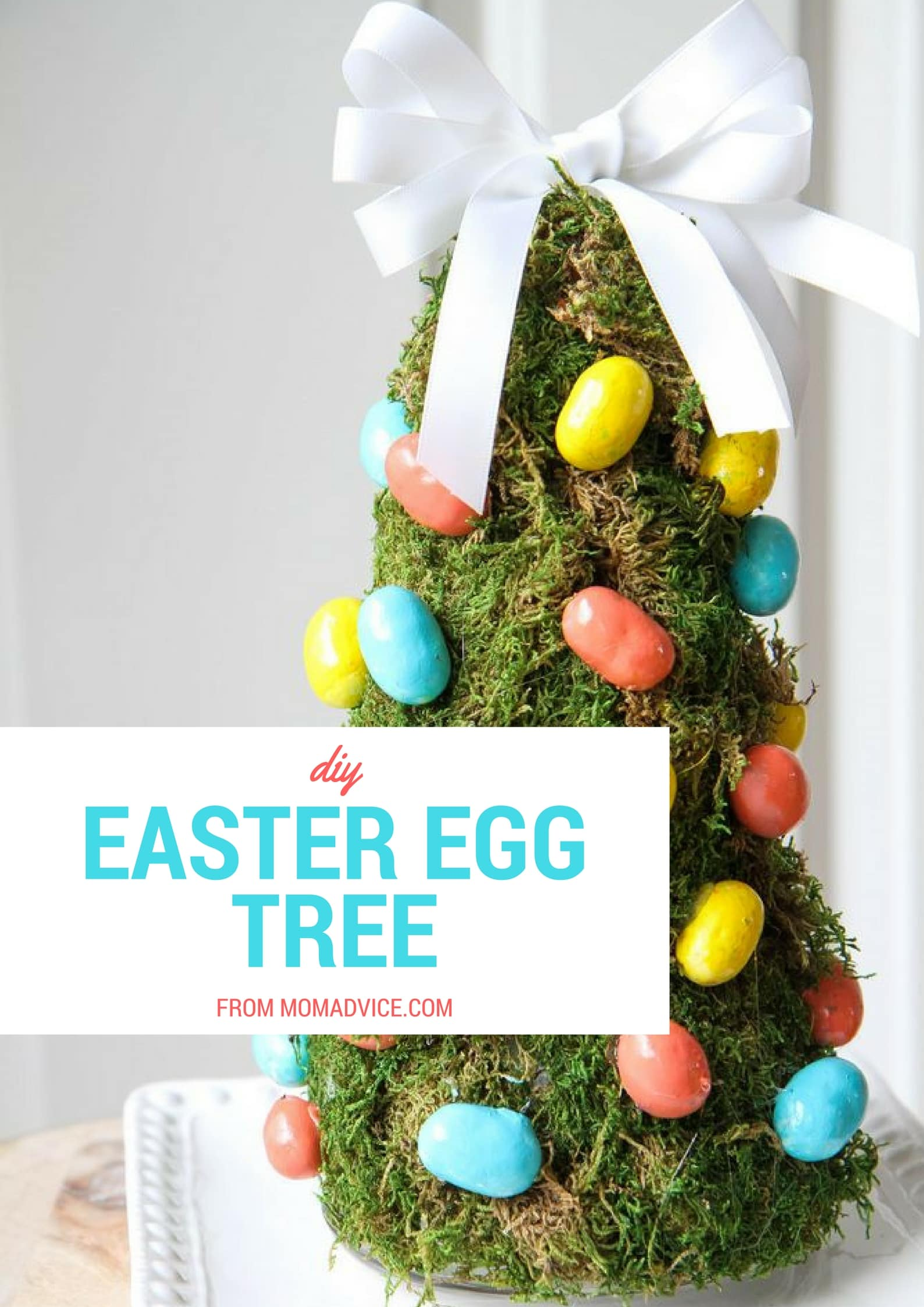 Crafts celebrations momadvice How to make an easter egg tree