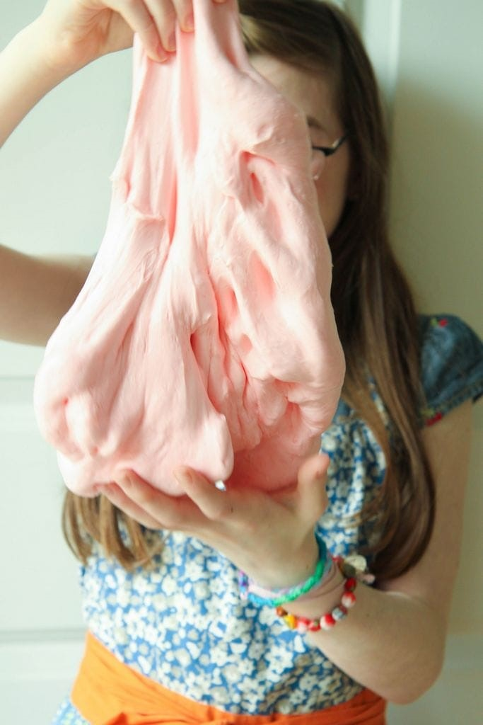 diy fluffy slime recipe  giveaway with summer brain quest