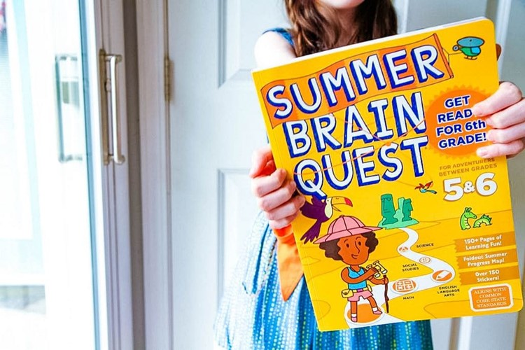 Summer Brain Quest Books