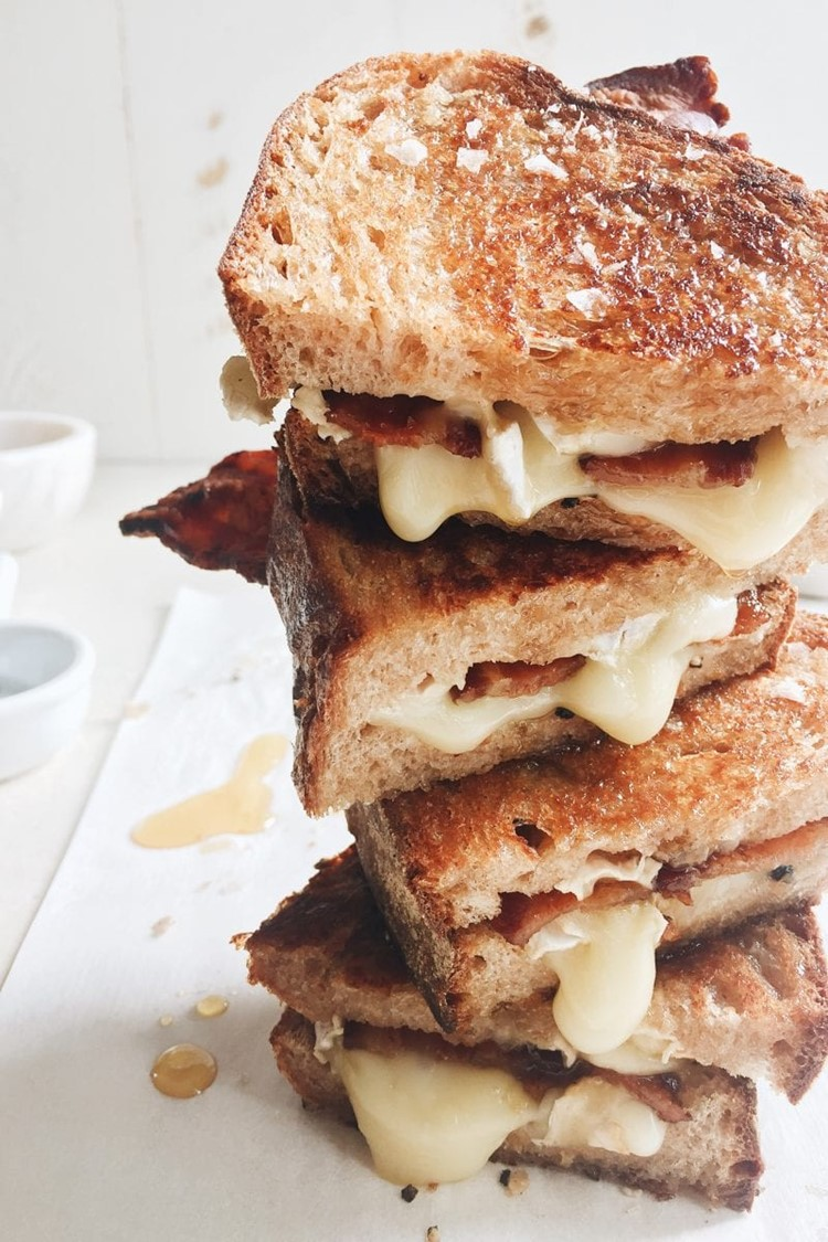 Maple Bacon Grilled Cheese