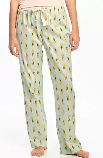 Pineapple Pajama Pants