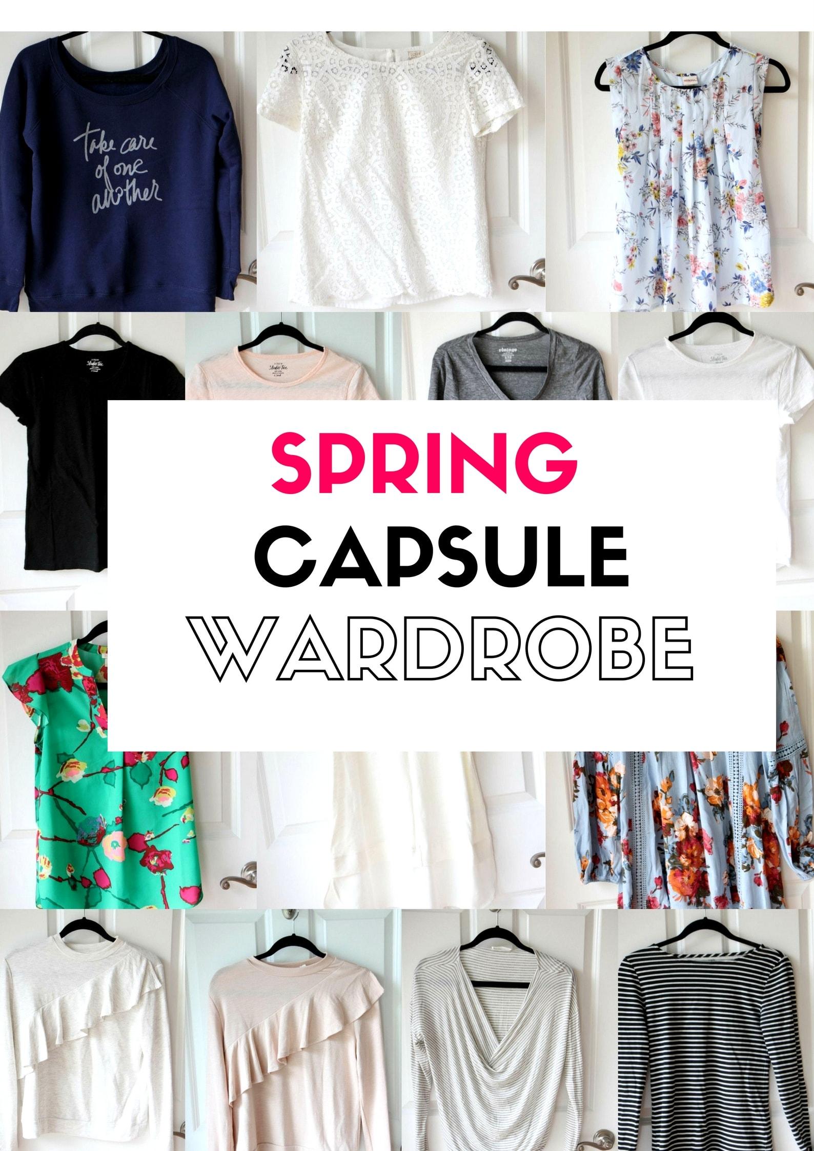 Spring 2017 Capsule Wardrobe