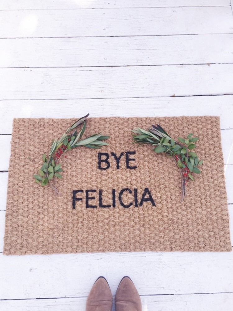 Bye Felicia Doormat