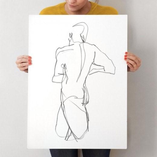 Standing Figure Art