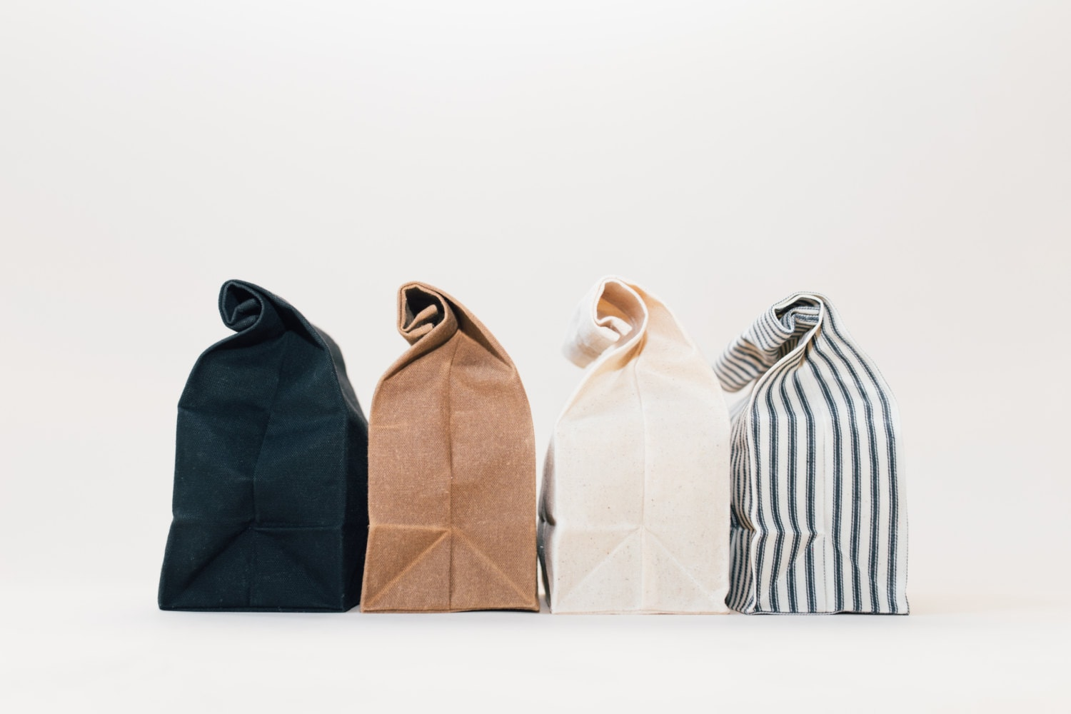 Waxed Canvas Lunch Bags