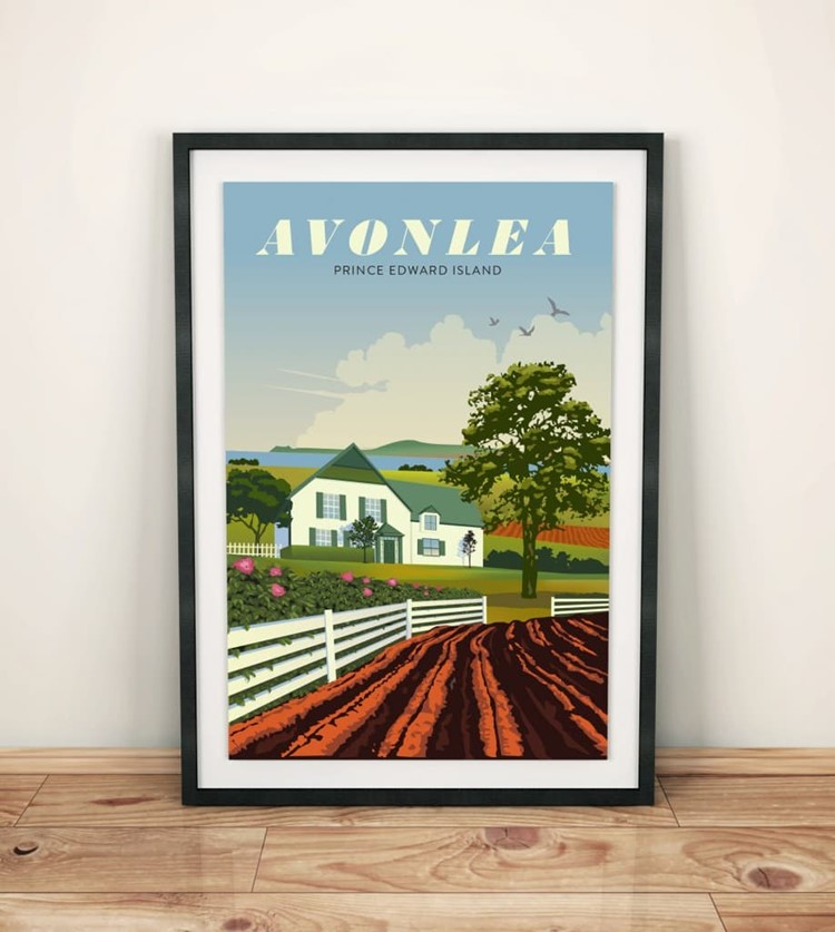 Anne of Green Gables Travel Print