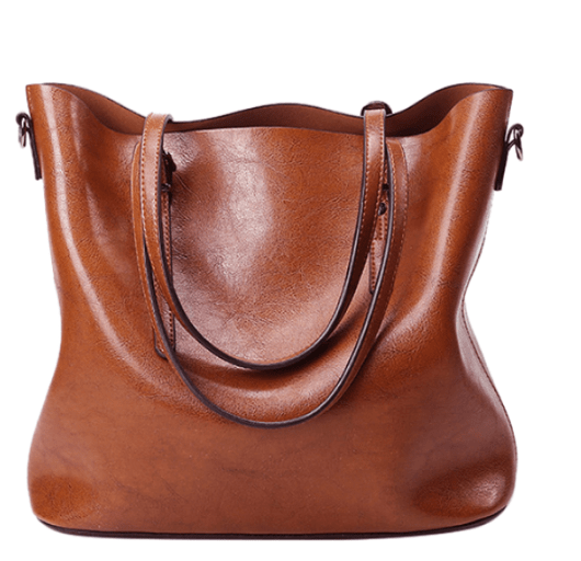 Buckled Leather Bag