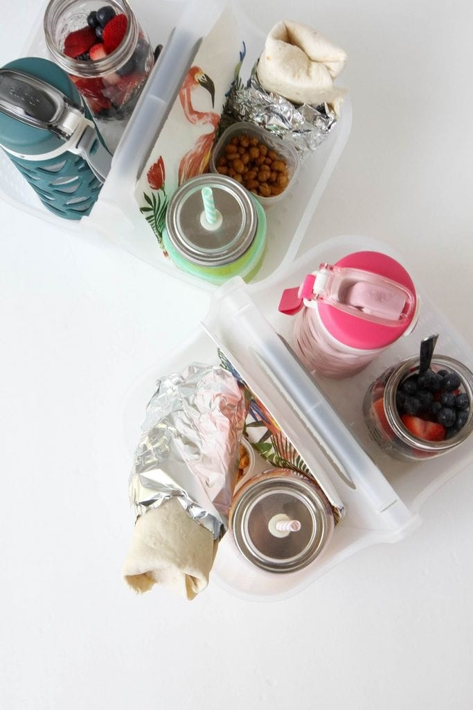 DIY Breakfast Caddy for the Car from MomAdvice.com