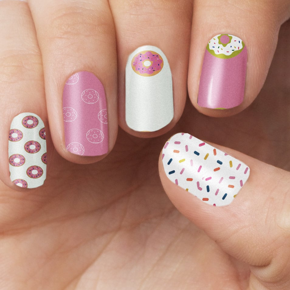 Donut Nail Polish Wraps