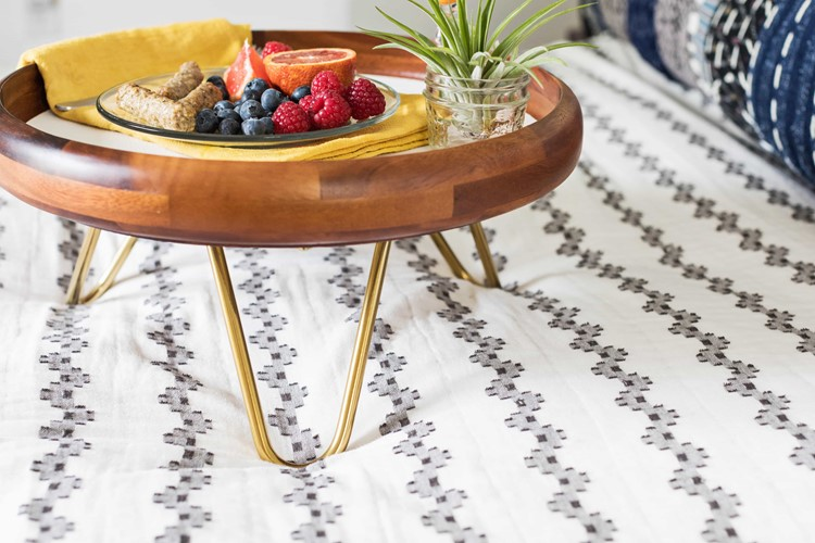 Hairpin Leg Breakfast Tray