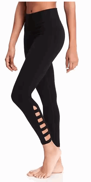 Lattice Work Yoga Leggings