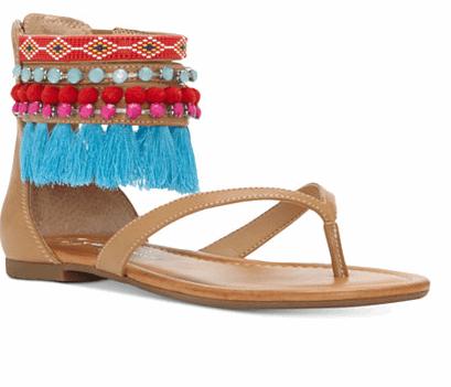 Flat Tassel Sandals