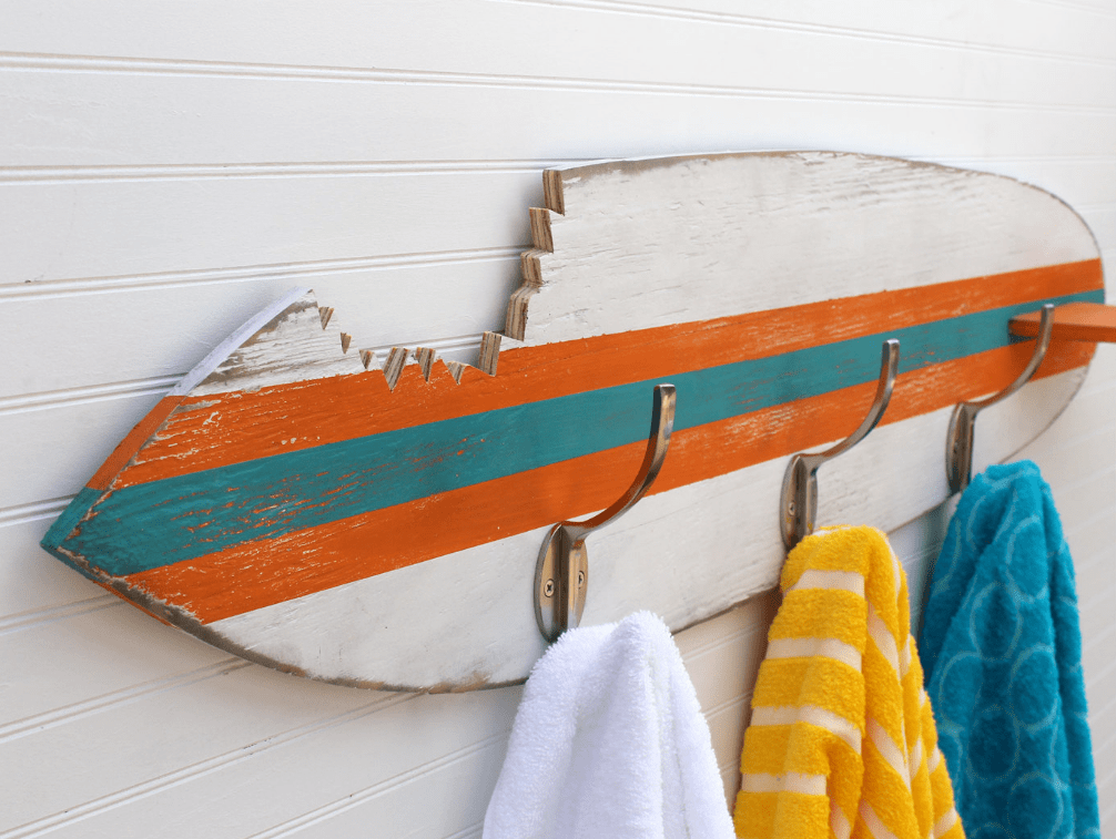 Surfboard Towel Hook