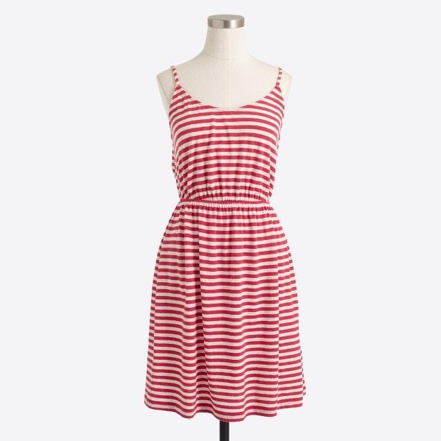 striped cami dress