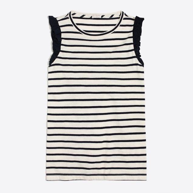 striped tank top