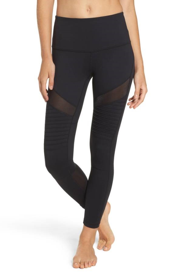 Zella High Waist Moto Leggings