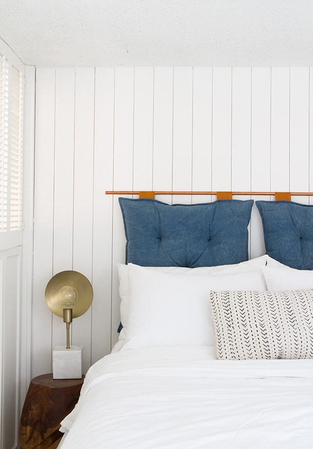 DIY Wood Faux Paneling