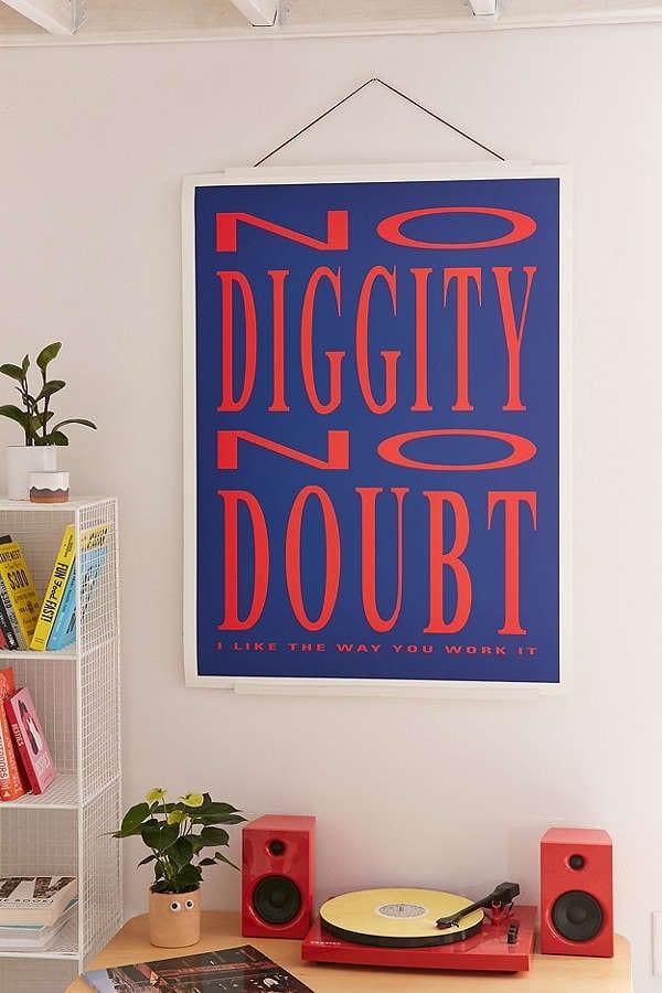 no diggity print