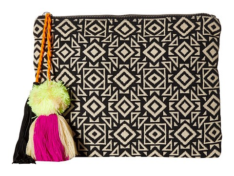 patterned-canvas-clutch