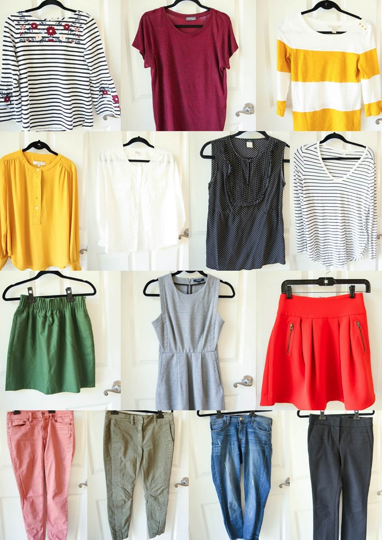 Fall 2017 Capsule Wardrobe from MomAdvice.com