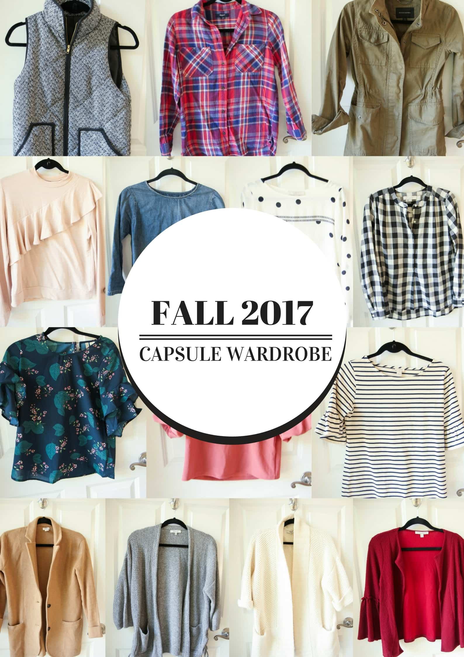 Fall 2017 Capsule Wardrobe from MomAdvice.com