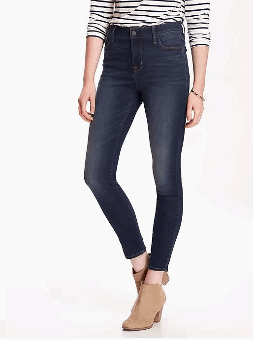 High Rise Rockstar Jeans