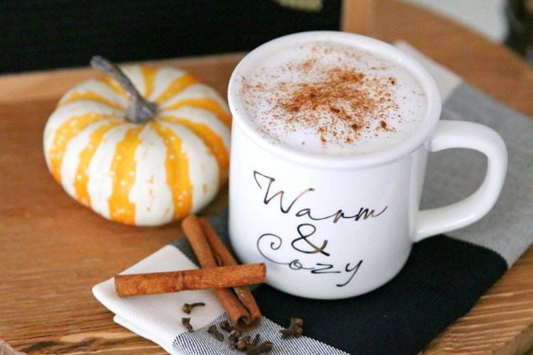 Paleo Vegan Pumpkin Spice Latte Recipe