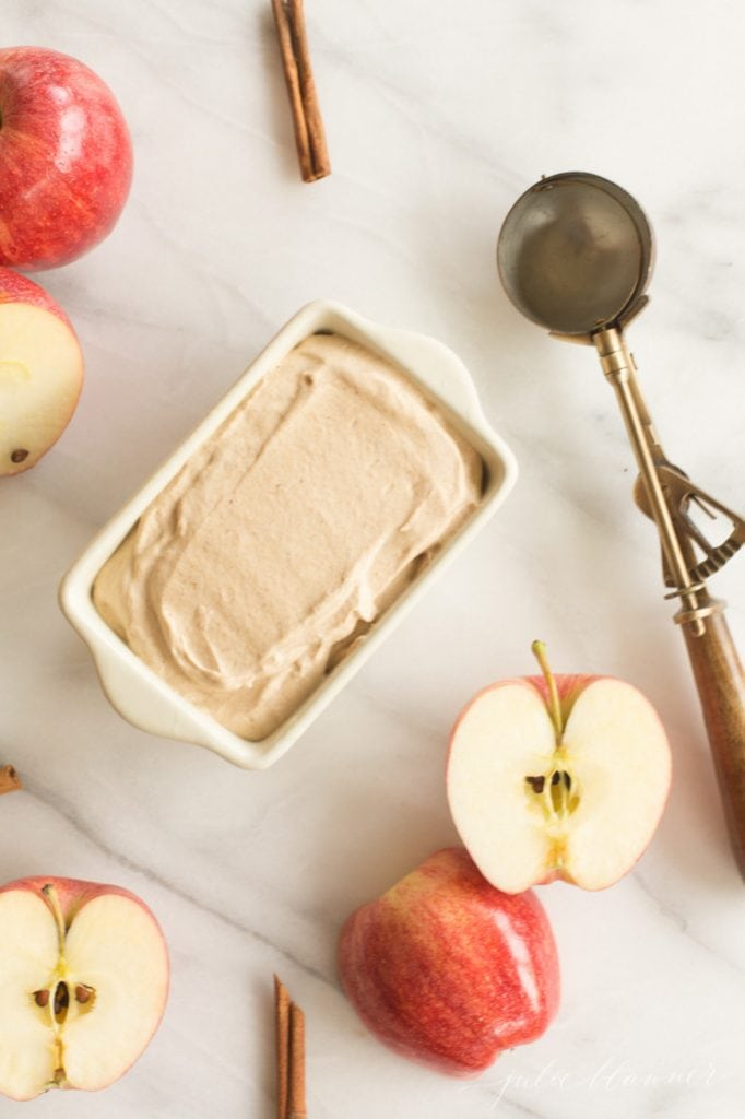 apple butter ice cream