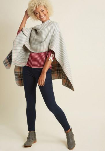 cozy campside shawl
