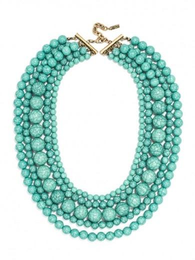 globe strands necklace