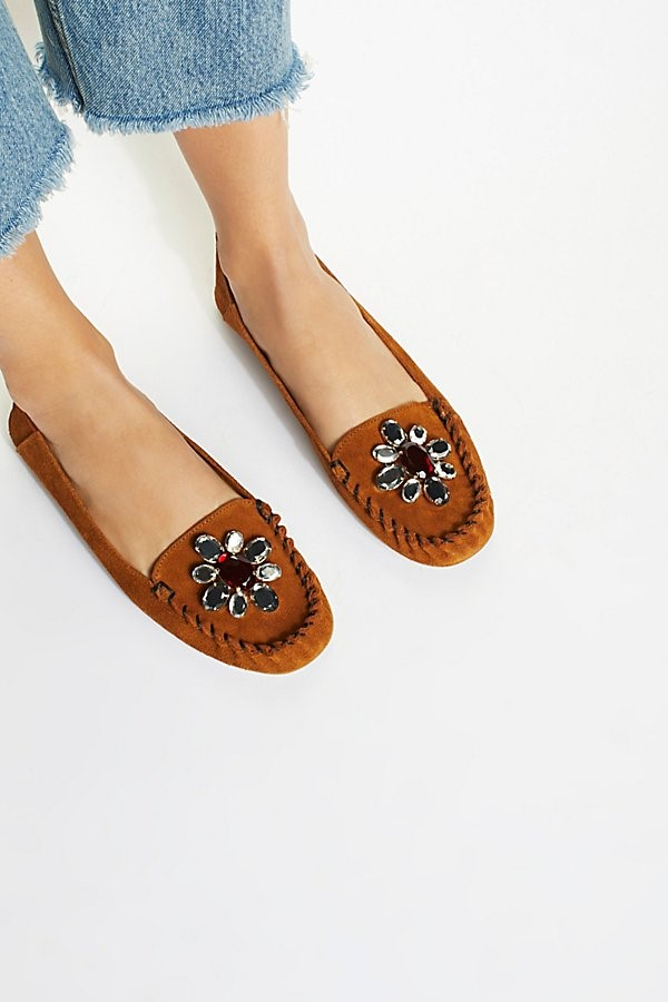 jeweled moccasins