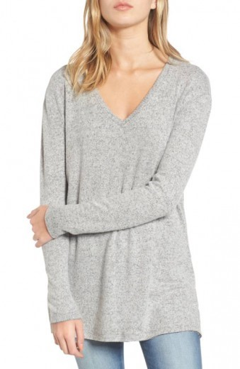 cozy long sleeve sweater