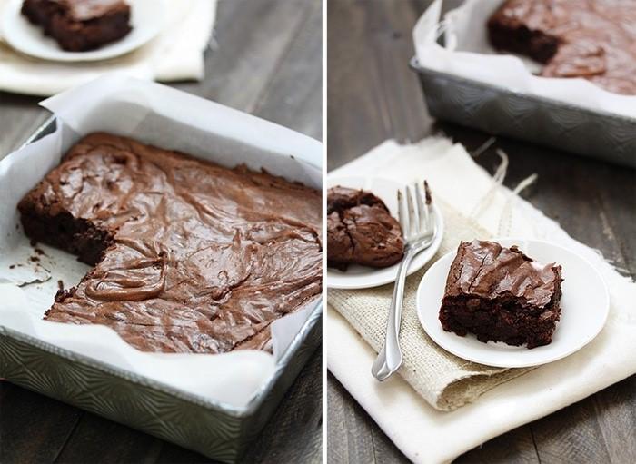 Simplest Easy Fudgy Brownies