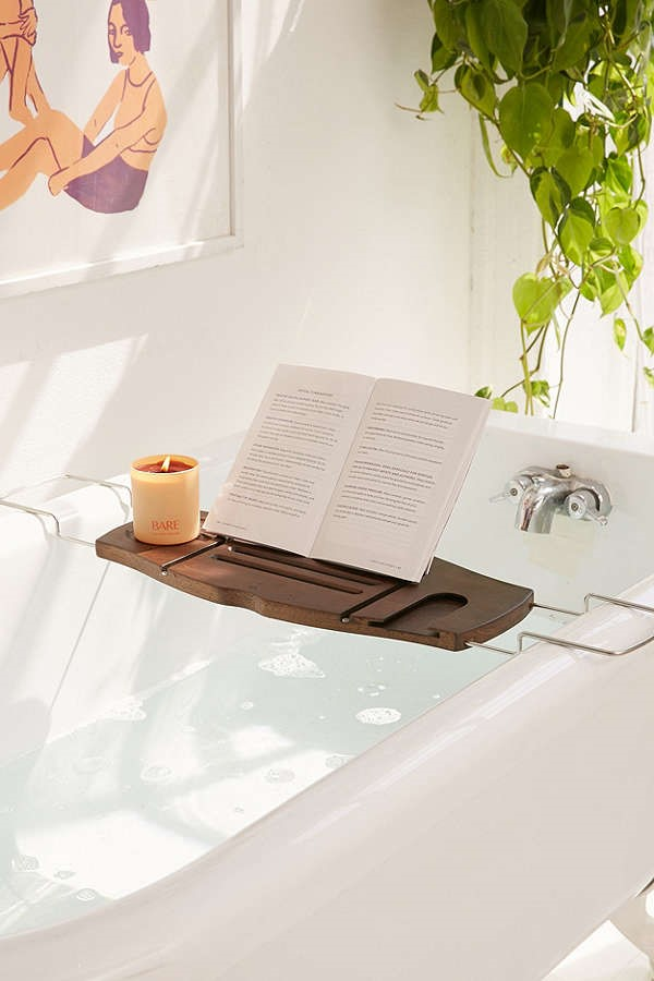 bath book tray