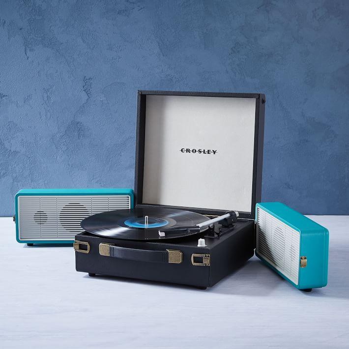 crosley snap record player