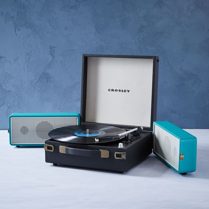 crosley snap record player