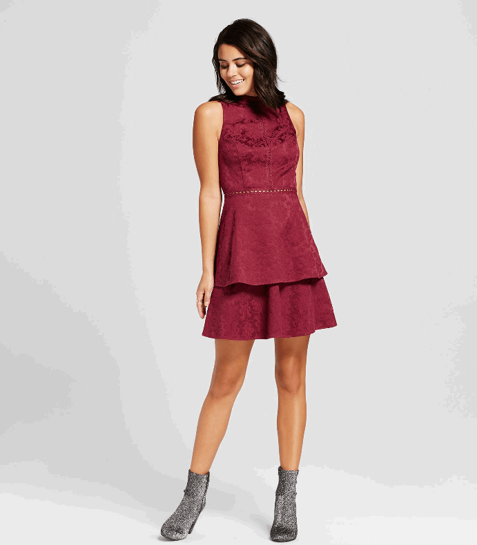 fit and flare holiday dress