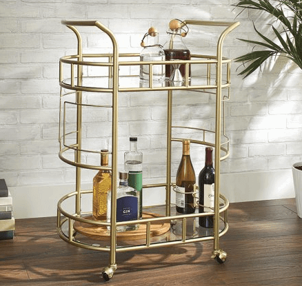 fitzgerald serving cart