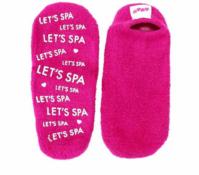 let's spa gel lined booties