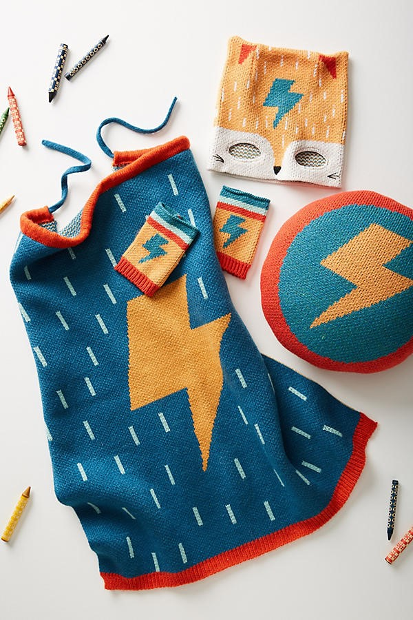 superhero dress-up capsule