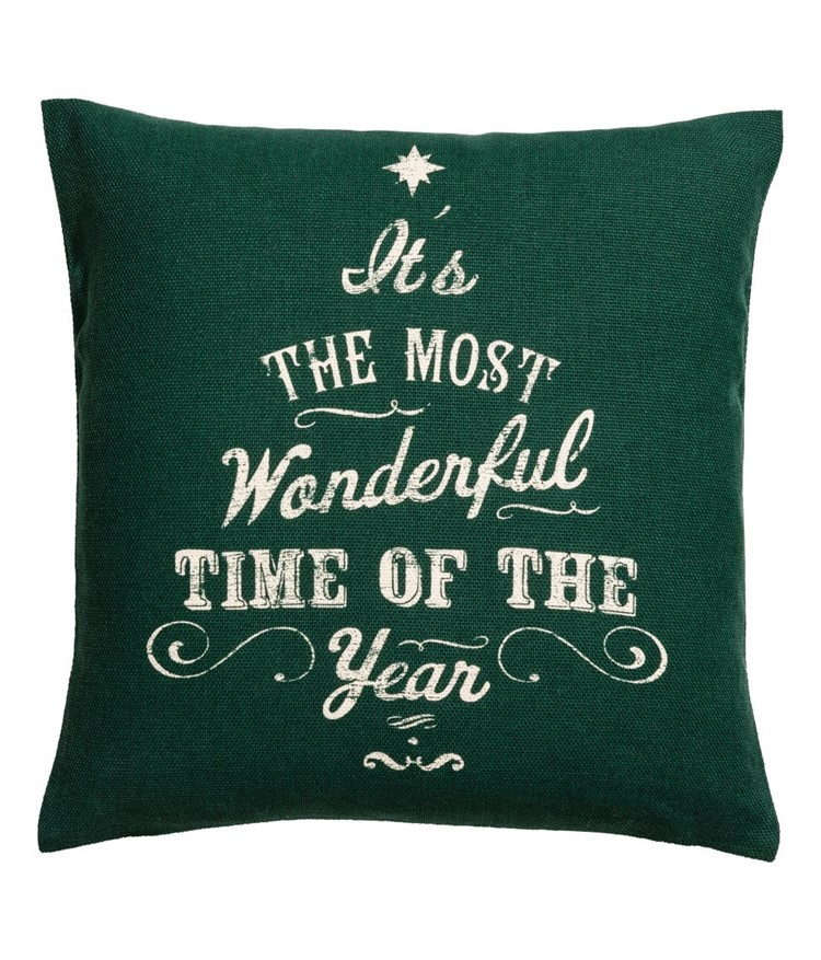 the most wonderful time of the year pillow