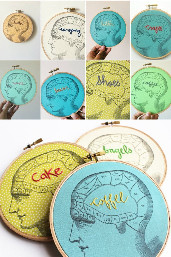 what's on your mind embroidery