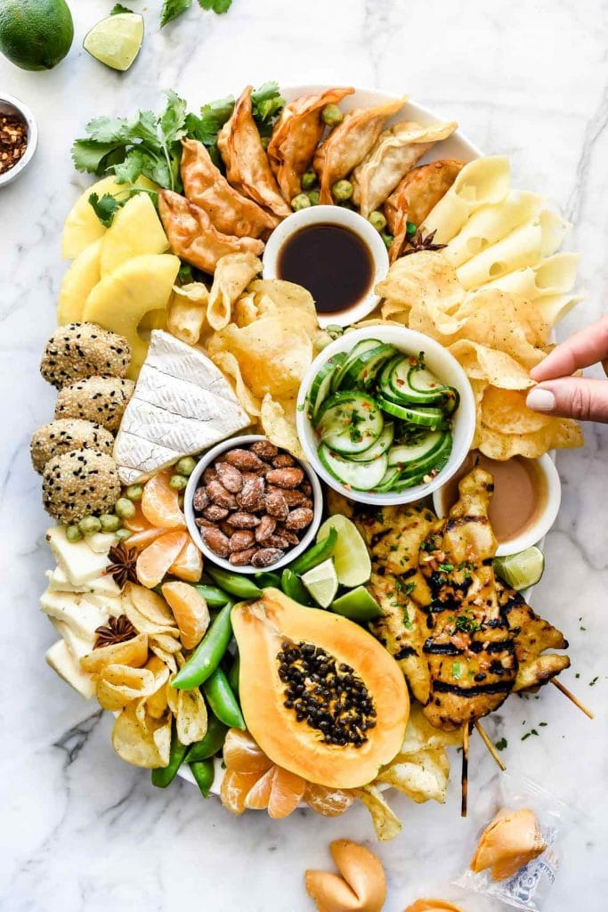 asian cheese board appetizers