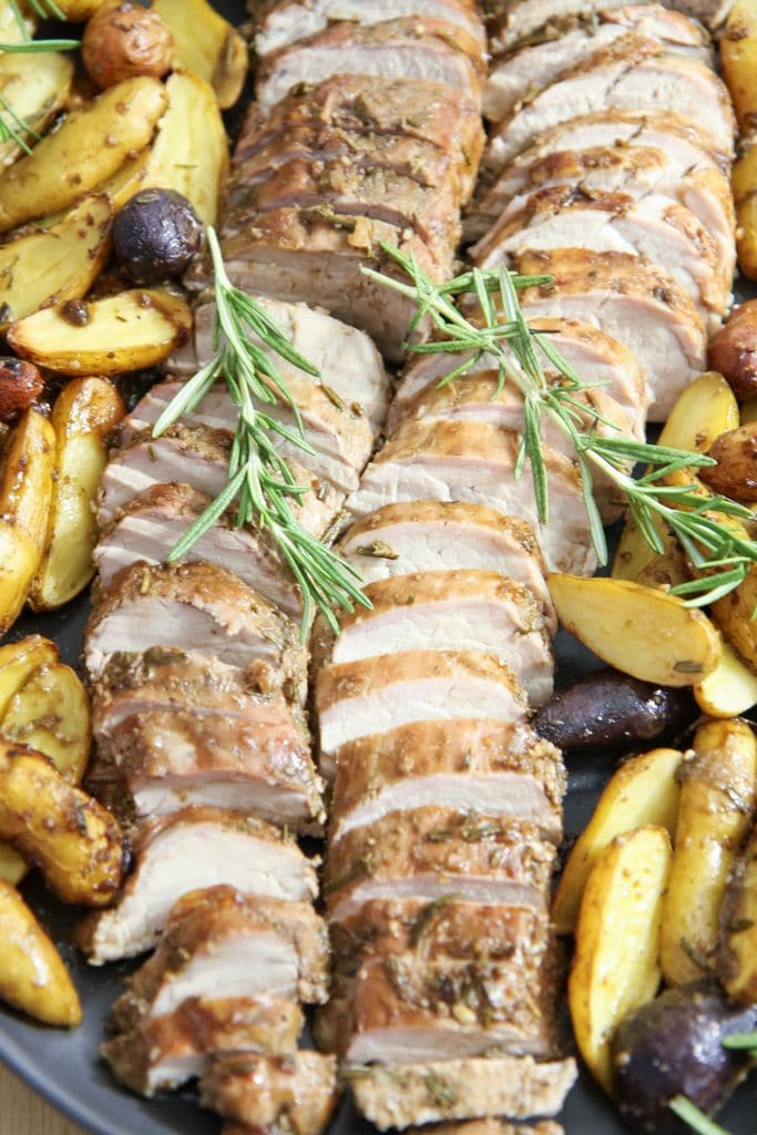 Balsamic Pork Loin Recipe from MomAdvice.com