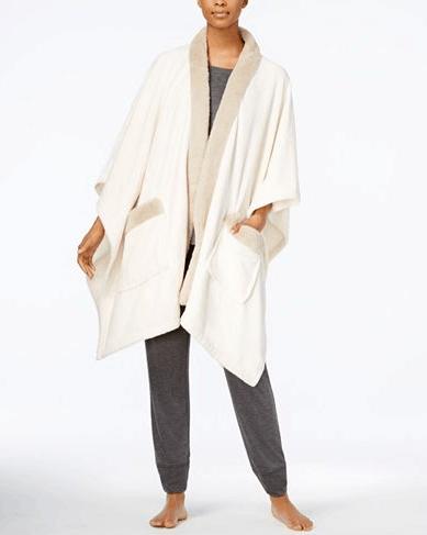 cozy plush wrap