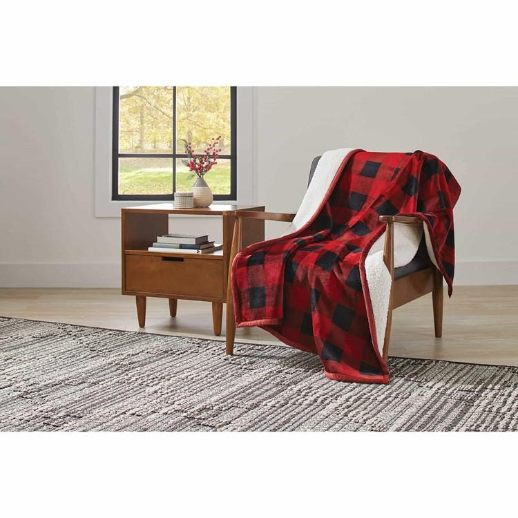 cozy sherpa blankets