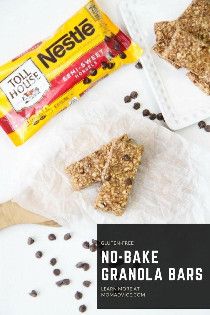 No-Bake Gluten-Free Granola Bars - MomAdvice