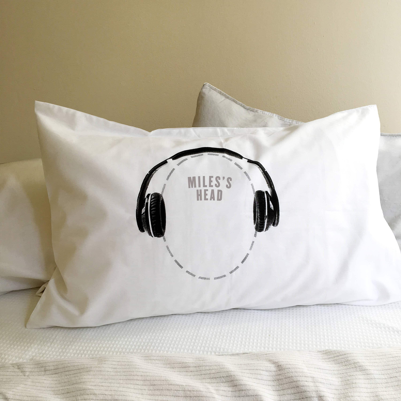 headphones pillowcase